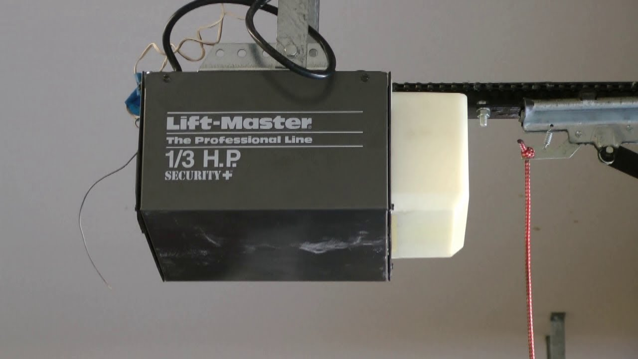 Lift Master Garage Door Opener Dad Replacing Gear Part