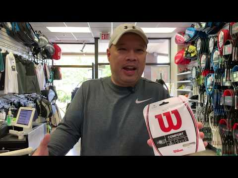 WHY I HATE WILSON SENSATION AND NXT TENNIS STRINGS