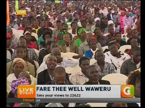 SK Macharia eulogizes veteran broadcaster Waweru Mburu