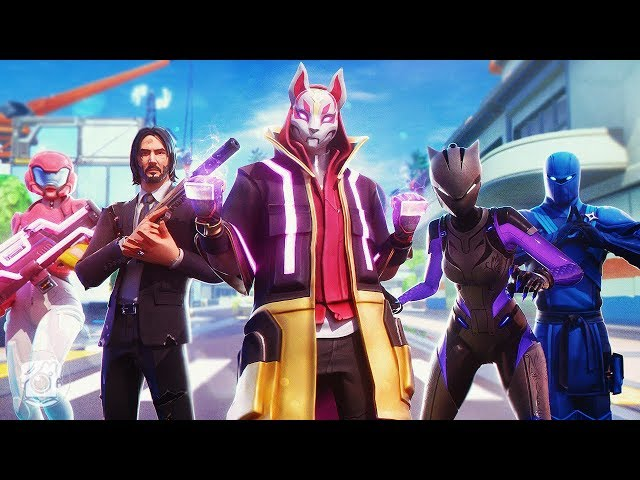 RETURN OF THE HEROES! *SEASON 9* (A Fortnite Short Film)