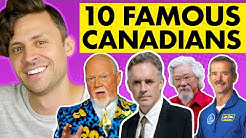 10 Canadian Celebrities (only Canadians know)