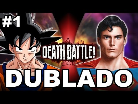 Goku VS Superman - (DUBLADO PT-BR)| DEATH BATTLE! | ScrewAttack!