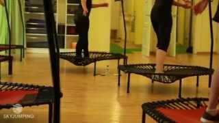 Фитнес на батутах - обучение фитнес инструкторов Sky Jumping