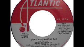 Eddie Kendricks ~ I Don