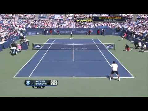 Roger Federer vs Novak Djokovic  Cincinnati Masters 2015 Final HD