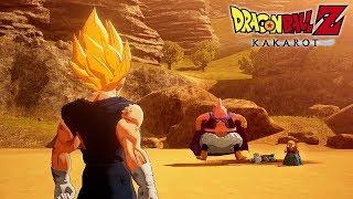 Dragon Ball Z KAKAROT - Vegeta vs Majin Buu Gameplay @ 1080p ᴴᴰ ✔