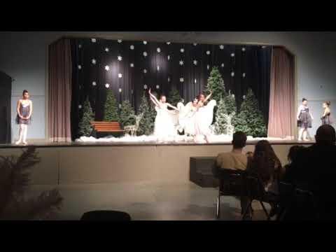 Sara phillips dancing at Athens Christian academy
