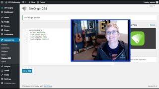 A Free Plugin that Writes CSS in WordPress Video