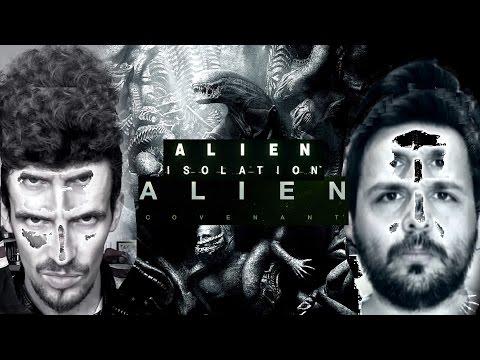ALIEN ISOLATION 2 & ALIEN COVENANT :COLABORACIÓN CON JOHN DOE- Debate / Análisis