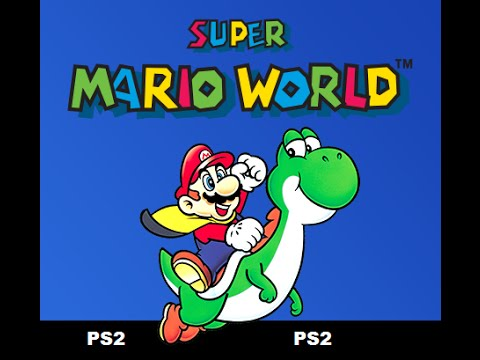 Super Mario World Para Playstation 2 + Link e Dicas - YouTube