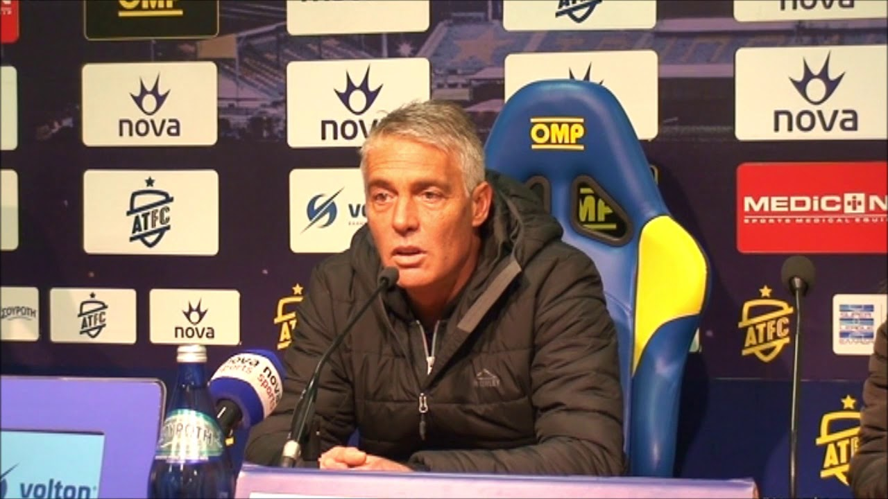 Μάκης Χάβος - Προπονητής Λαμίας