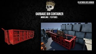 Garbage Bin Container