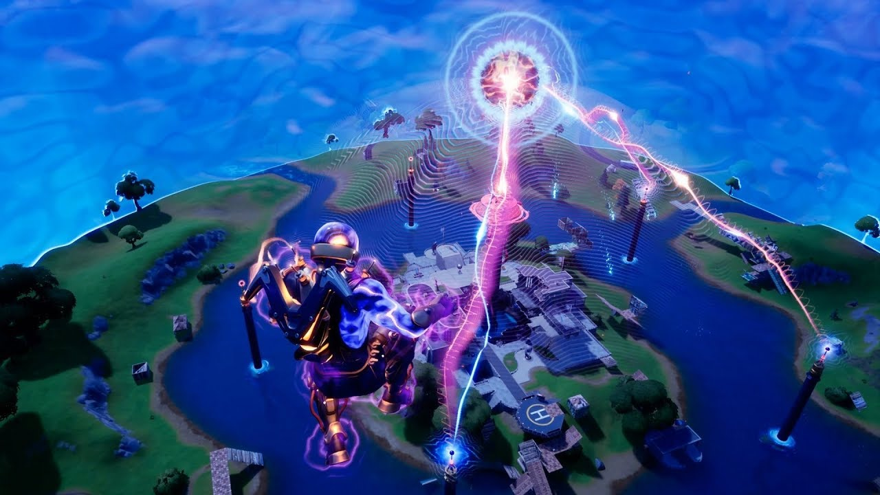 Fortnite: The Device DOOMSDAY Full Event 4K (No Talking No Dancing)
