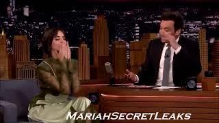 Camila ''Mariah did blow me... a kiss!'' Jimmy Fallon Interview 2018