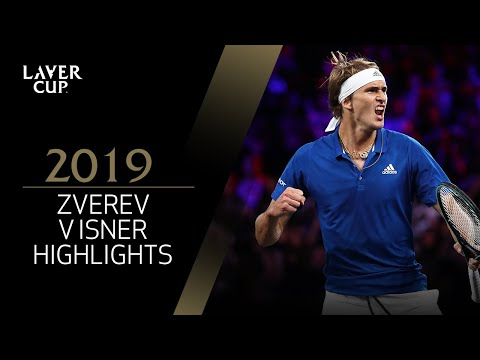 Match Highlights:   Zverev V  Isner, Day 2, September 21 2019