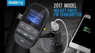 Video Unboxing - Nulaxy KM20 2017 | Wireless In-Car Bluetooth FM Transmitter| Car Kit download MP3, 3GP, MP4, WEBM, AVI, FLV Juli 2018