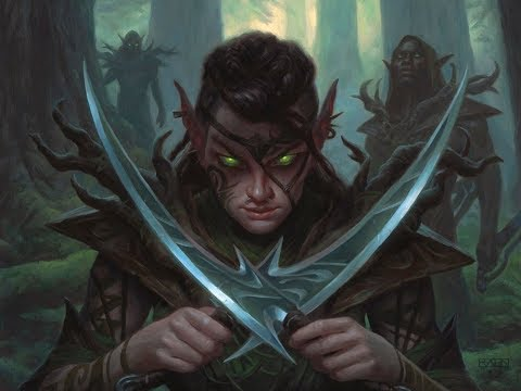 Tribal Time - Mono Green Elves - Deck Tech and Gameplay with CGB