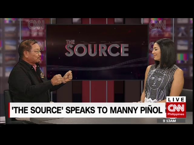 'The Source' speaks to Agriculture Secretary Manny Piñol