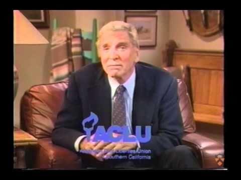 ACLU PSA with Burt Lancaster, Jill Eikenberry, Michael Tucker