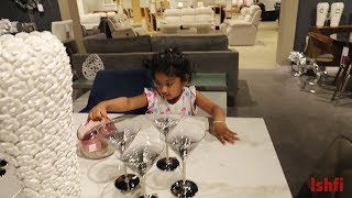One Day Vlog - Ishfi's new Furniture for new house
