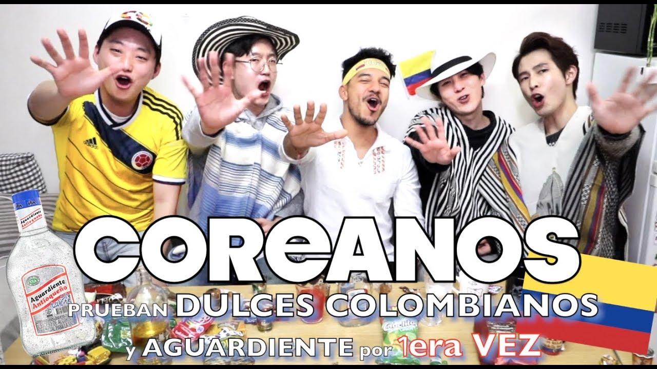 coreanos-prueban-dulces-colombianos-aguardiente-por-1era-vez