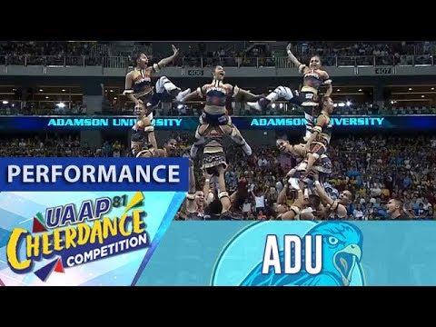 UAAP CDC Season 81: Adamson Pep Squad | Full Performance