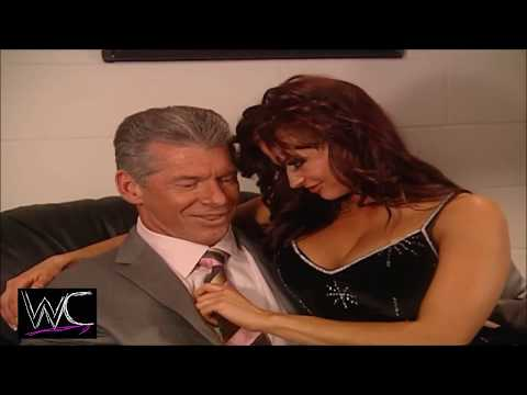WWE Mr McMahon, Candice Michelle 1080p Backstage