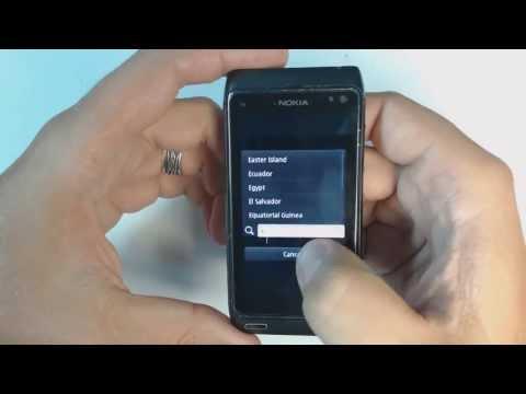 Nokia N8 factory reset