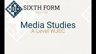 A Level Media Induction