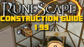 Runescape Training Guide: 1-99 Construction Guide Runescape 2016 - Fast Methods - iAm Naveed