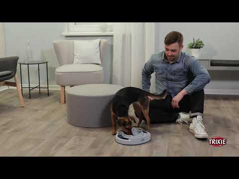 TRIXIE Heimtierbedarf - Strategiespiel für Hunde und Katzen Slide & Feed