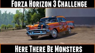 Forza Horizon 3 Challenge Here There Be Monsters