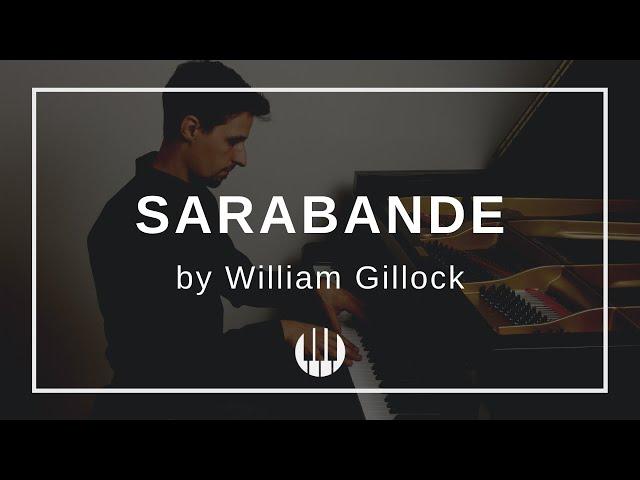 Sarabande by William Gillock