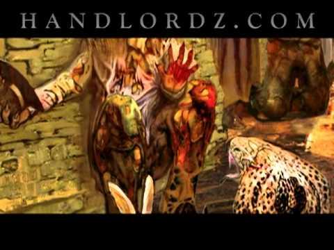Superhandz Warz Limited Edition Art Print - SOLD OUT