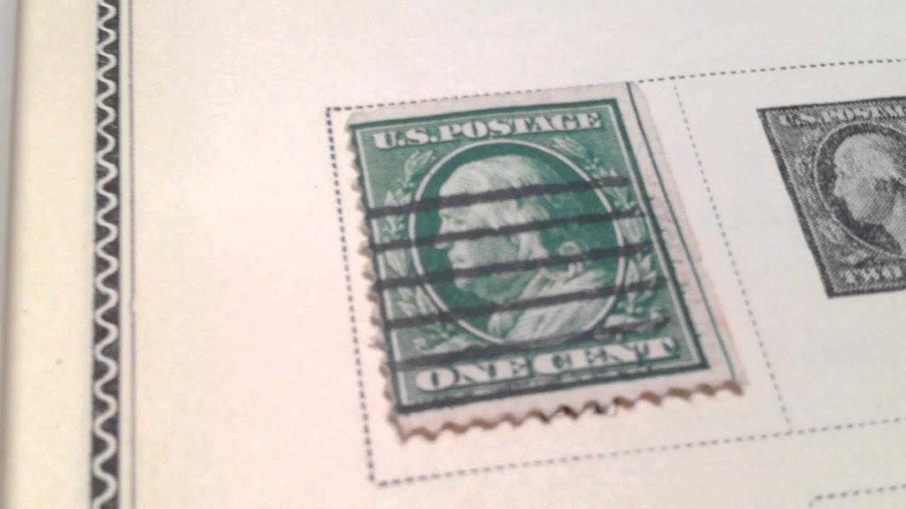 1908 1 162 Benjamin Franklin Us Postage Stamp Scott S 331