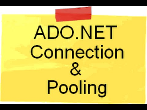 Explain ADO.NET Connection pooling ( ADO.NET Interview questions)