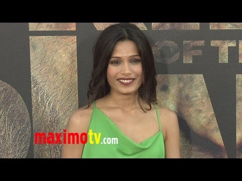 "Freida Pinto at ""Rise of the Planet of the Apes"" Premiere"