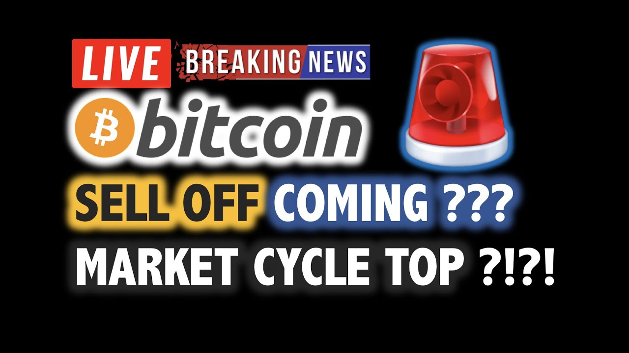 BITCOIN SELL OFF Soon? Market Cycle Top? ?❗️LIVE Crypto Analysis TA & BTC Cryptocurrency Price N