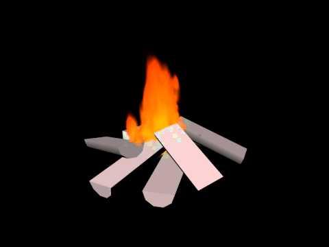 Maya fire animation
