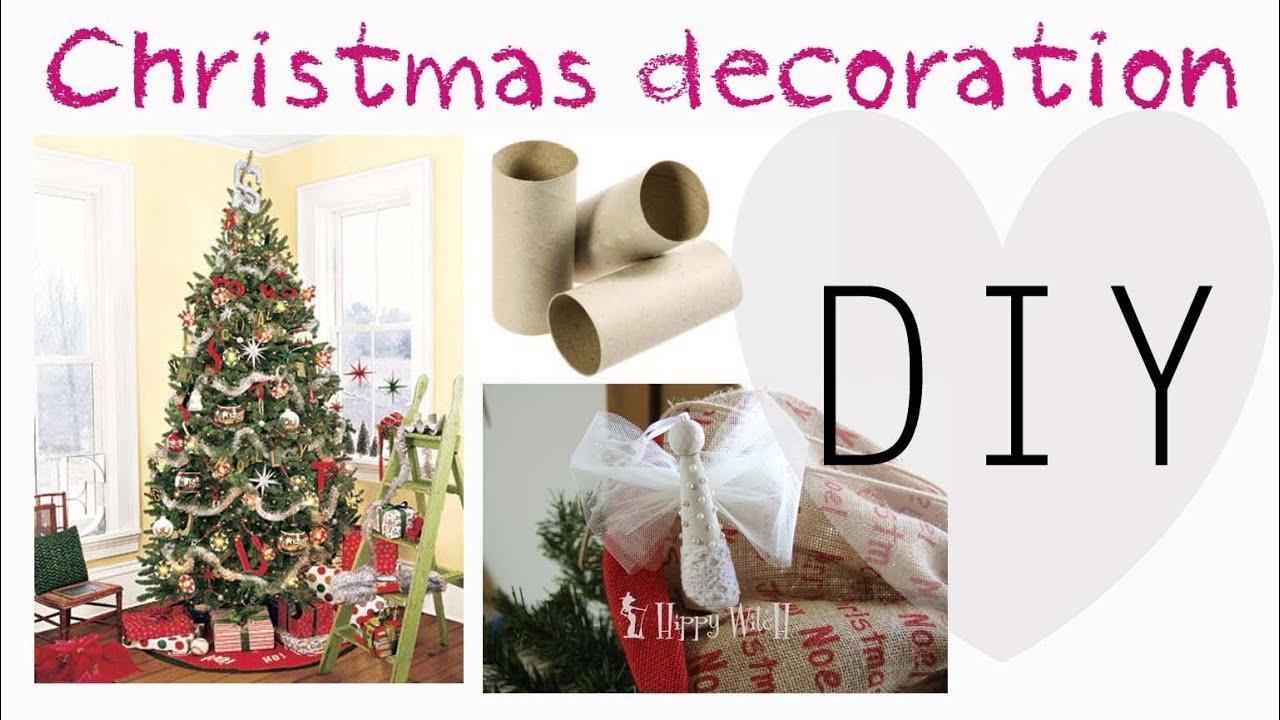 Diy decorazioni per albero di natale con rotoli carta igienica youtube - Albero porta carta igienica ...