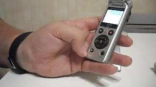 olympus PCM LS P1   Grabador de sonido digital porttil, gran calidad respaldada por una gran marca