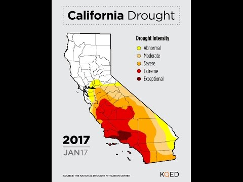 VIDEO: Watch California's Drought Shrink in 40 seconds