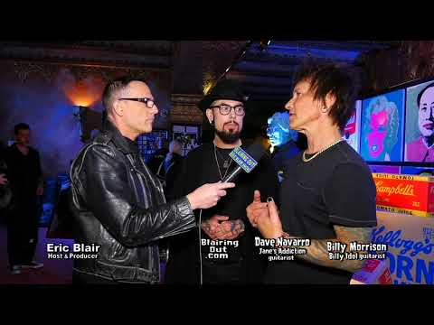 Dave Navarro, Billy Morrison & Eric Blair talk