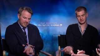 The Amazing Spider-Man 2: Andrew Garfield, Emma Stone & Marc Webb Interview