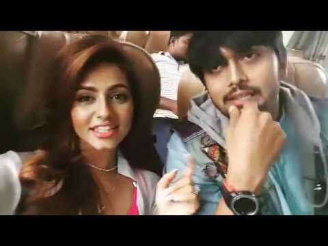 Arifin Shuvoo and Nusrat Faria funny moments during Premi o Premi Shotting