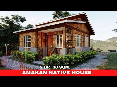 AMAKAN NATIVE HOUSE   2 BR    36 SQM. HALF CONCRETE DESIGN   ARKIPEACE