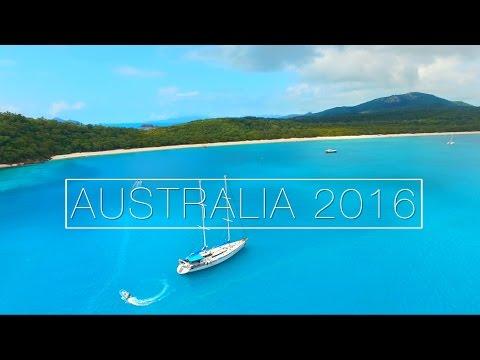 Adventures in Down Under - Australia 2016 | DJI Phantom