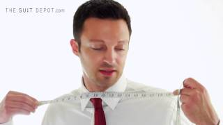 How to measure yourself to determine your suit jacket & pants size
