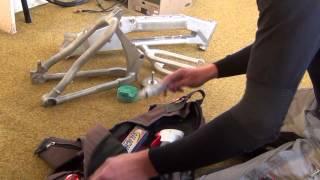 Výjimečná práce (generální oprava) na kole po 24000 km