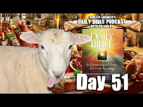 Old Testament Feast Traditions Make No Sense || GE's Daily Bible Podcast, Day 51